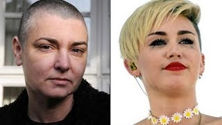 MILEY CYRUS VS SINEAD O'CONNOR TWITTER FIGHT DETAILS
