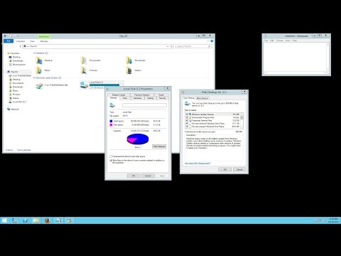Installing Disk Cleanup (cleanmgr.exe) on Windows Server 2012 R2