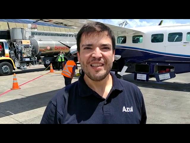 Marcelo Bento, Diretor de Relações Institucionais da Azul, fala sobre a inauguração dos voos para Ca