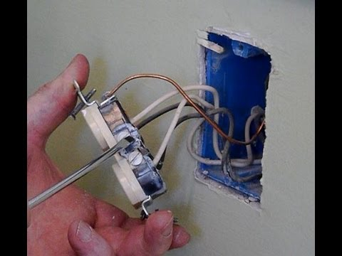 how to properly install a electric outlet tool tip 15 youtube rh youtube com Single Outlet Wiring Wiring a Switched Outlet