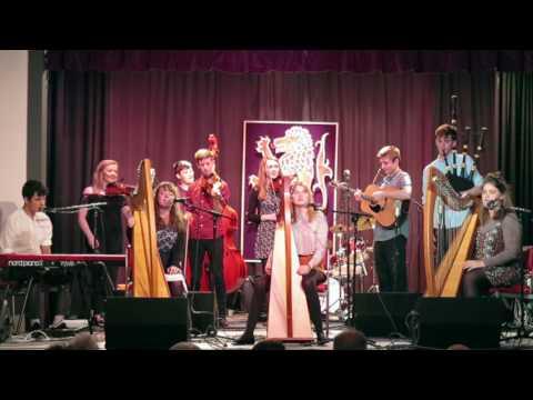 Pockton Music School seniors performance during concert in Braemar, Scotland, June 2017