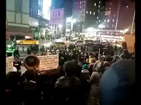 07 Dec 2014. 10:52pm #nyc2ferguson #shutitdown ustream
