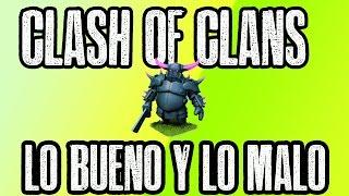 ACTUALIZACION CLASH OF CLANS  LO BUENO Y LO MALO  CLASH OF CLANS   SOYGAMEPLAY