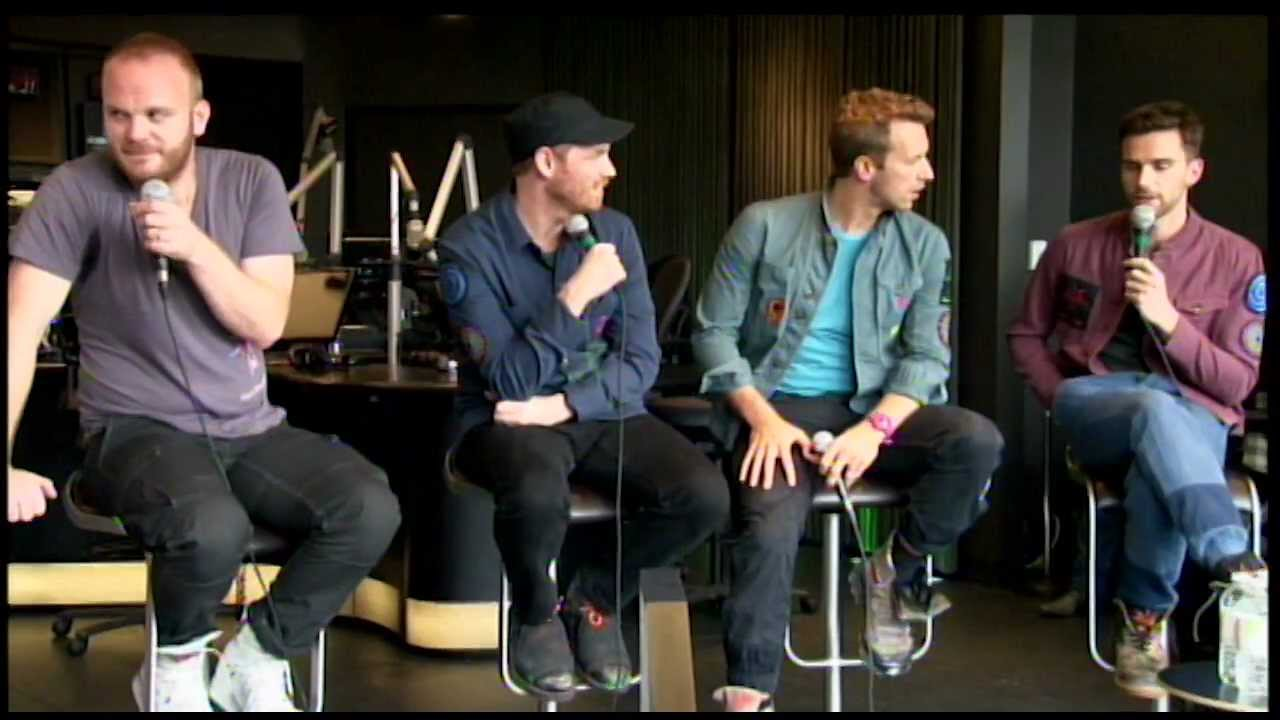 COLDPLAY Interview at 102.1 the edge in Toronto, ON