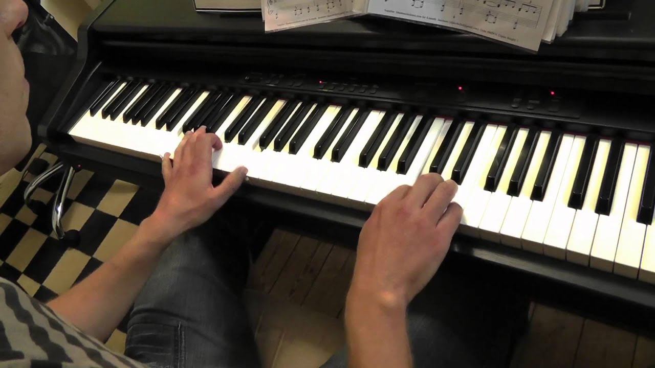 Sia - Chandelier - Piano Cover - Slower Ballad Cover - YouTube