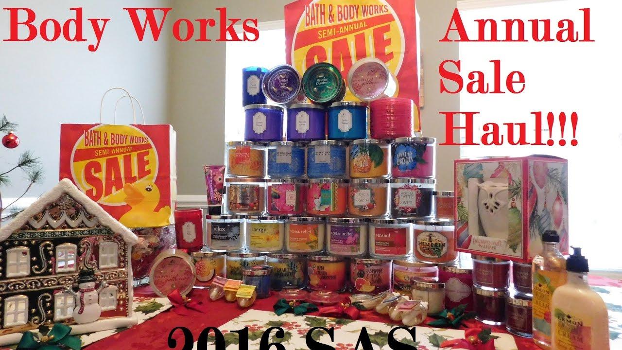 Massive Bath And Body Works Semi Annual Sale Sas Haul