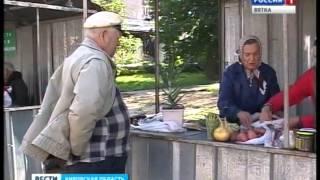 В Нововятском районе презентовали новые торговые места для садоводов(ГТРК Вятка)