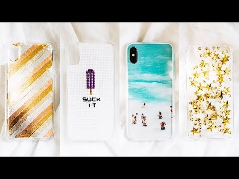 DIY iPhone XS / XS Max Cases (2018) - Aesthetic + Affordable // Lone Fox
