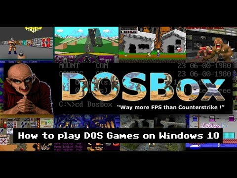 how to run dosbox games