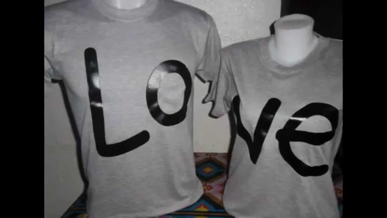 Shirt design for couples - Customize Couple Shirt Silkscreen And Digital Printing