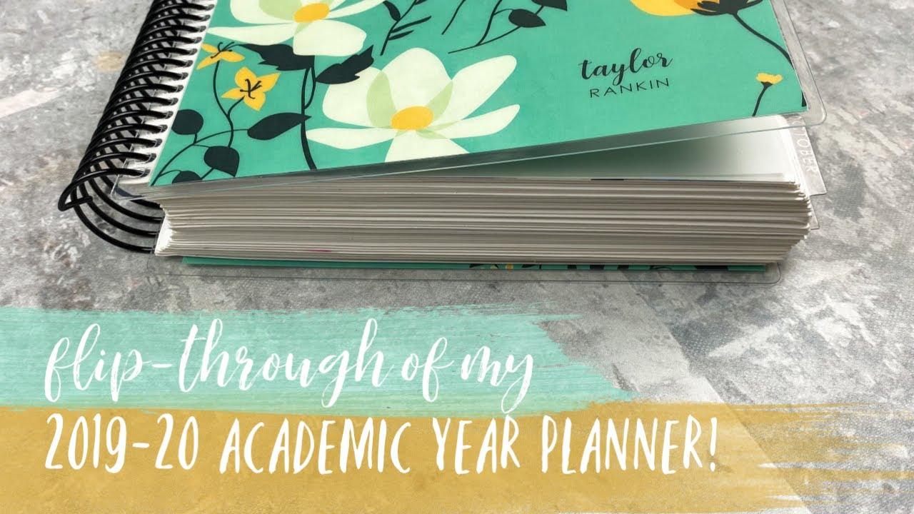 FLIP-THROUGH OF MY 2019-20 PLANNER! | tattooed teacher plans