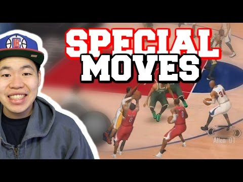 Special Moves You Must Try - Learn How To Step Back & Bank Shot- Nba Live Mobile