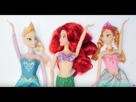 Four Times Tables Song Disney Princesses 4 x | Boogie