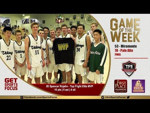 Game of the Week   Palo Alto vs Miramonte