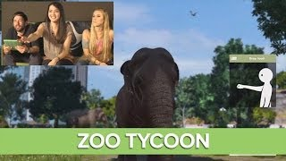 Let's Play Zoo Tycoon - Xbox One Gameplay Live with Julia Hardy