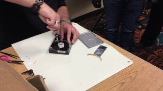 Learn Data Recovery: Platter Replacement with HVAC Tape