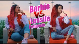 BARBIE imita el Instagram de 😍 Lesslie Polinesia (segunda parte) | Mujulat 😘