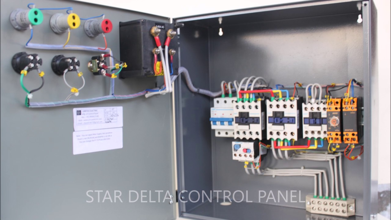 [CSDW_4250]   Three Phase Control Panel - YouTube | Delta 3 Phase Panel Wiring Diagram |  | YouTube