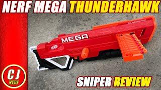 Nerf Mega Thunderhawk Review - 2018 NEW Accustrike Series