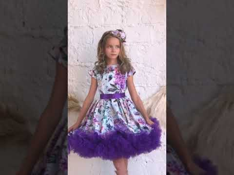 """Нарядное платье для девочки """"Зефир"""". Арт. 9700134"""