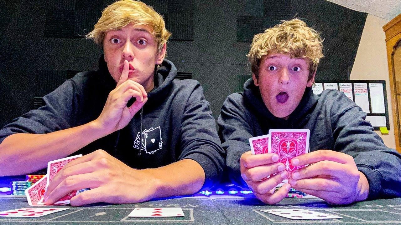 Playing Poker LIVE | Sneak Peek at NEW MERCH!