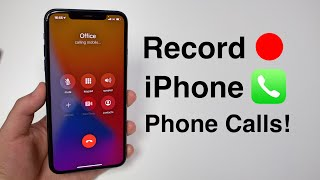 How to Record Phone Calls on iPhone!! (FREE & No Jailbreak) screenshot 3