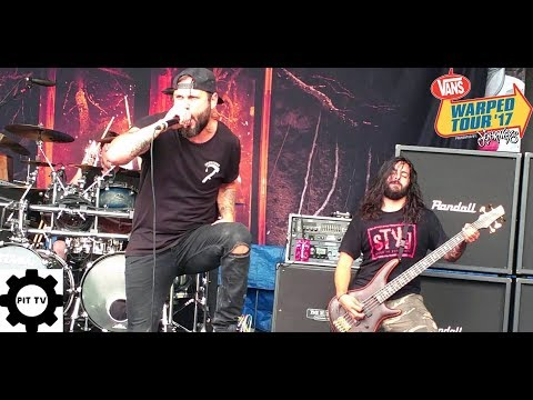 After The Burial Berzerker  Vans Warped Tour 2017
