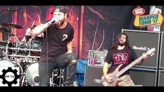 After The Burial- Berzerker (live Vans Warped Tour 2017)