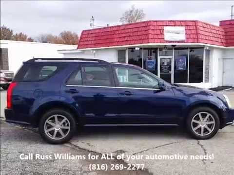 2004 cadillac srx kansas city st joseph mo ks used cars russ williams pre owned auto kc youtube. Black Bedroom Furniture Sets. Home Design Ideas