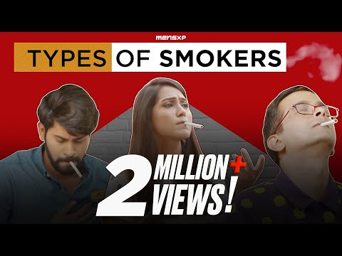 MensXP: Types Of Smokers We All Know | Types Of People While Smoking