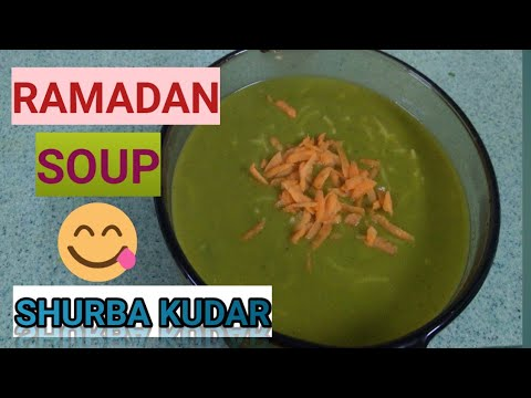 VEGETABLE SOUP/SHURBA KUDAR (Ramadan Special)