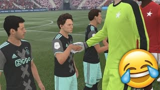OMG SMALLEST TEAM vs TALLEST TEAM on FIFA 17!! SO FUNNY!!