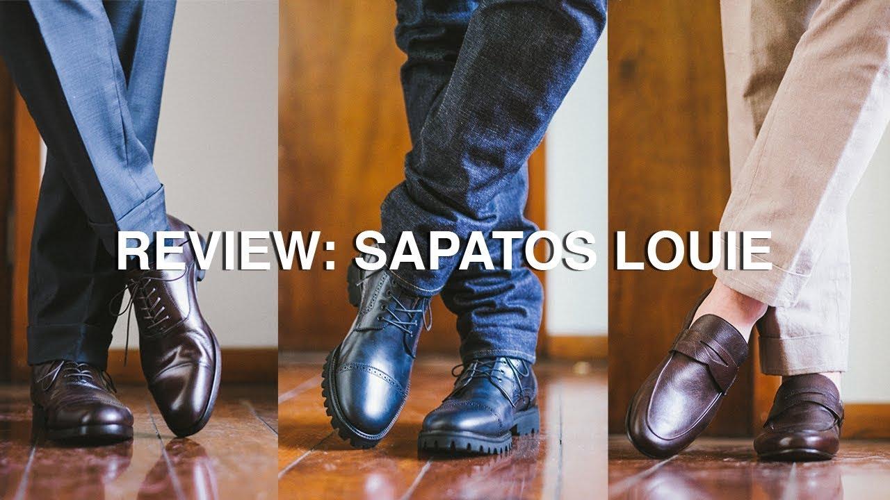 d2646cadd Sapatos Louie e Bota Louie  Unboxing e Review Completo - YouTube