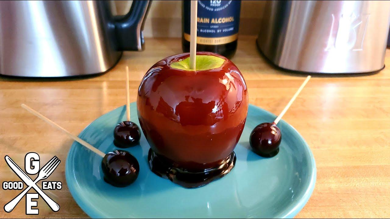 How To Make Homemade Candy Apples   GoodEats420.com