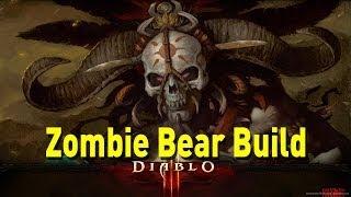 ♥ Diablo 3 - Witch Doctor Zombie Bear Build Guide 2.0.2