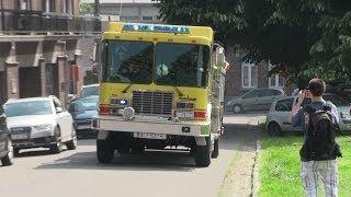 [HME Fire Truck + Q2B-siren] Autopompe + Citerne - SI Herve