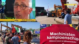 Infra mensen gezocht: Machinistenkampioenschap