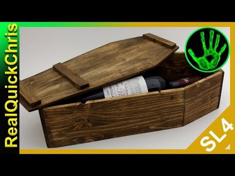 how to build a wooden coffin