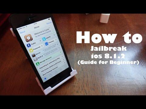 วิธีการเจลเบรค ios 8.1.2 ด้วย TaiG [Jailbreak Episode1]