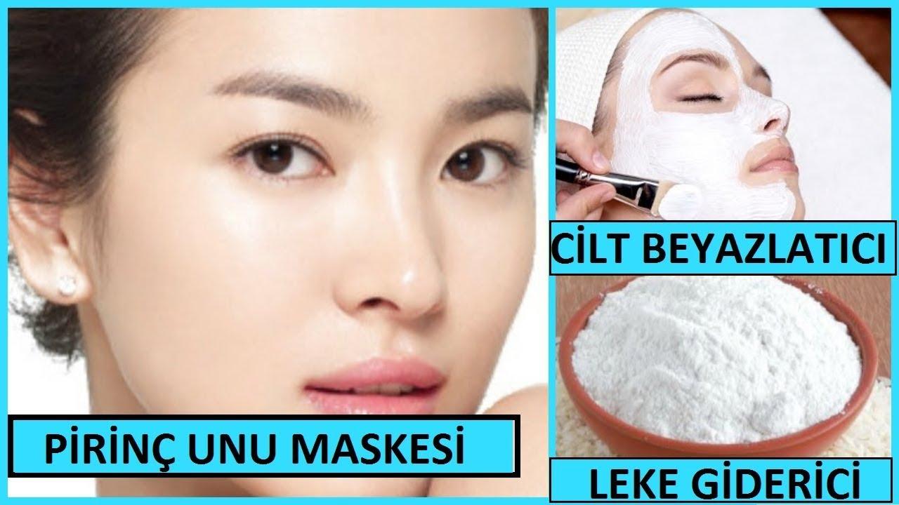 Pirinç Unu Maskesi