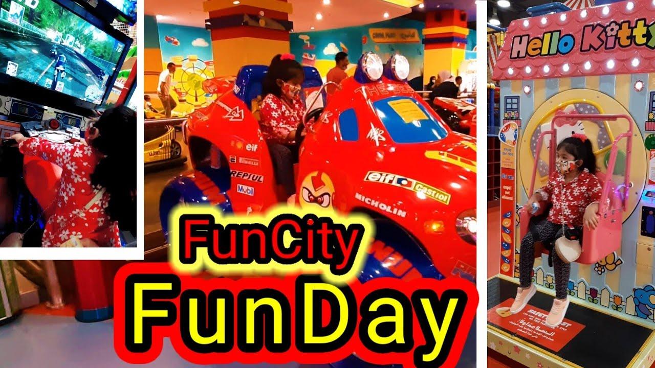 Funcity FunDay // Fun On Rides // kids PlayTime