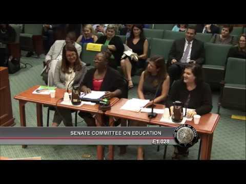Joni Mitchell of Houston Gateway Academy Testifies on Importance of School Choice