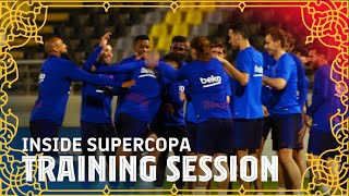 Special training in Jeddah ahead of Barça-Atleti | INSIDE SUPERCOPA #2