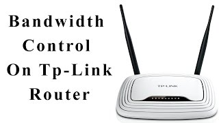 Restrict bandwidth on router