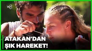 Atakan'ın Dalaka'ya Yemek Yedirmesi Olay Oldu! - Survivor 44. Bölüm
