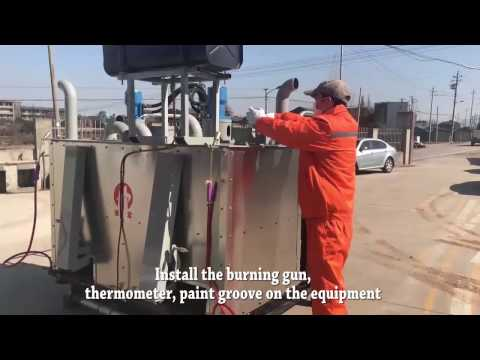 YHHF C 1000Ⅱ Thermoplastic Preheater Operation Manual