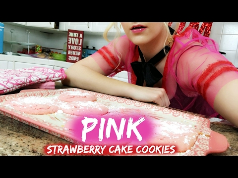 Strawberry Cake Cookies   Rydel Lynch