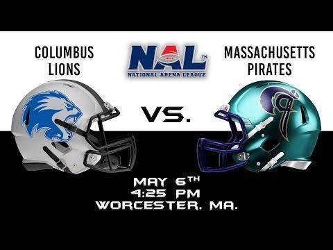 Columbus Lions vs Massachusetts Pirates