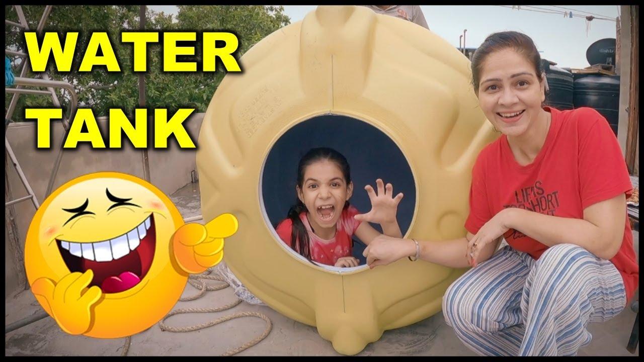 Guneet in Water Tank 😄 Family Funny Video   Harpreet SDC