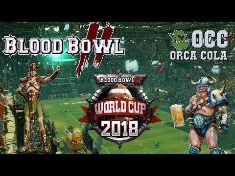 World Cup Qualifier! Wood Elves (the Sage) vs Norse (Frank Furter) - OCC WCQ G1 (Blood Bowl 2)